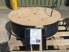Unissued 300m x 11mm Drum of Parafil Synthetic Fibre Rope (Guardrail, Rigging, Handrail etc)