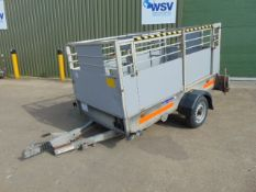 Ex British Telecom Indespension 750Kg Single Axle Engineers Trailer