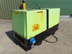 Pramac P11000 Single Phase 10.3 KVA Yanmar Diesel Silenced Generator 1274 HRS ONLY