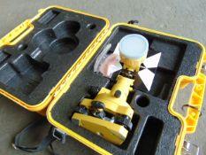 Surveyors Theodolite Reflector equipment c/w Transit Case