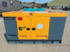 2020 UNISSUED 40 KVA 3 Phase Silent Diesel Generator Set. This generator is 3 phase 380 volt 50 Hz