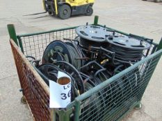 12X CABLE AND REELS
