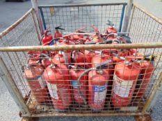 50 x Fire Extinguishers