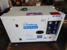 ** BRAND NEW ** Unused PG10000/SS 10KVA Diesel Generator