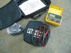 Robin KMP3075 DL Insulation / Continuity Tester C/W Leads & Accessories