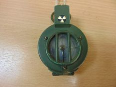BRITISH ARMY FRANCIS BARKER M88 PRISMATIC COMPASS NATO MARKED- MADE IN UK - NO BUBBLES