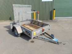 Aluminium 2 Wheel Plant Trailer c/w Rear Ramp