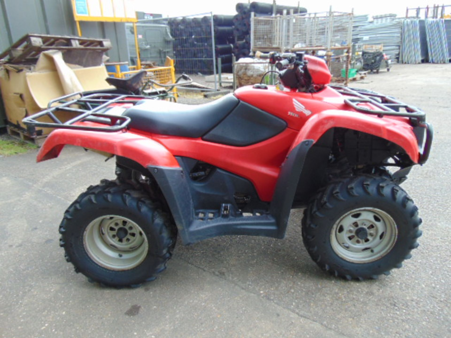 Honda TRX 500 4WD Quad Bike ONLY 2,300 HOURS! - Image 4 of 20