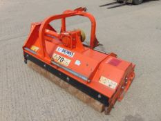2017 Tierre Lupo 140 Flail Topper Mower for Compact Tractor