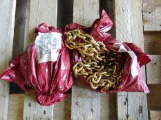 2 x unissued 4-5m recovery chain