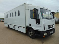 2011 Iveco Eurocargo 100E18 Day Cab Box Van 4x2 3.9L Diesel - Prison/Secure Transport Vehicle