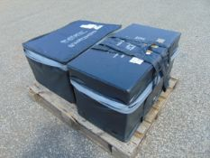 2 x Large Waterproof Rubber Storage Containers as shown