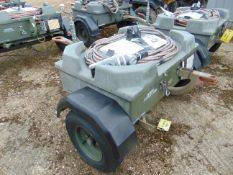 AIRCRAFT STARTER TROLLEY C/W BATTERIES AND LEADS