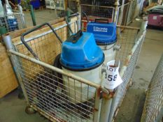 2X ELECTROLUX INDUSTRIAL VACUUM CLEANERS