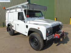 2011 Land Rover Defender 110 Puma hardtop 4x4 Utility vehicle (mobile workshop)
