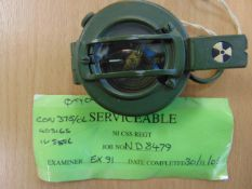 UNISSUED STANLEY BRITISH ARMY PRISMATIC MARCHING COMPASS NATO MARKED