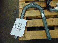 GAZELLE REAR VEE FRAME PART N. 341A38-5000-02