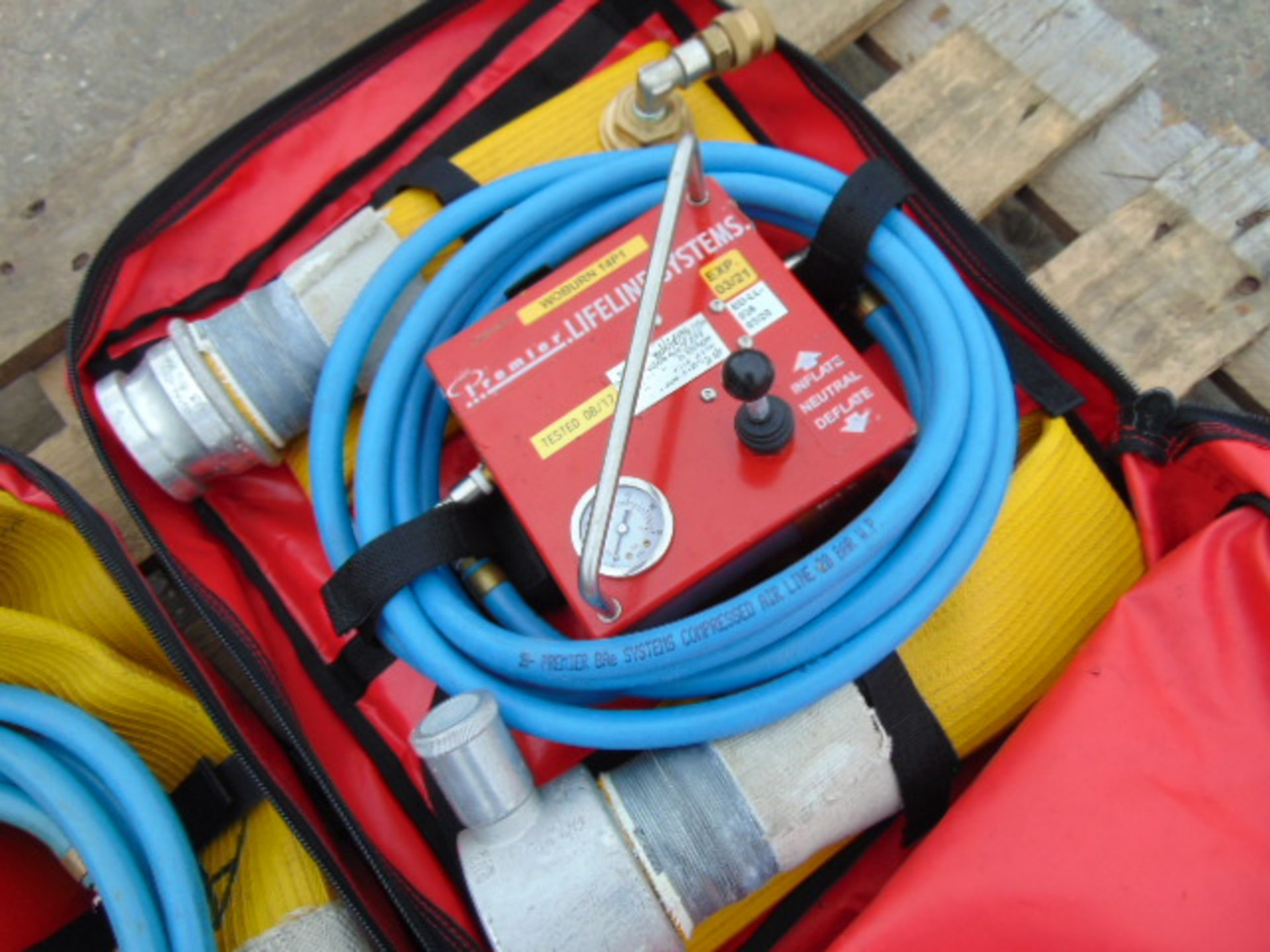 QTY 2 x Premier Lifeline Hose Inflation Systems - Image 2 of 4