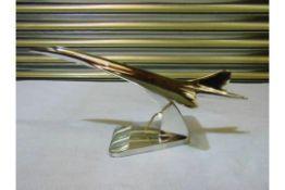 ALUMINIUM DESKTOP CONCORDE 46cm x 17,5cm x 21,2cm