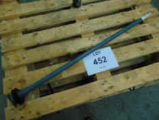 GAZELLE SHAFT REAR PART N. 341A34-1114-06N