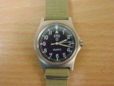 VERY RARE 0552 CWC ROYAL MARINES ISSUE SERVICE WATCH DATE 1989 (GULF WAR)