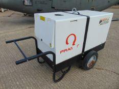 Pramac P11000 Single Phase 10.3 KVA Yanmar Diesel Silenced Generator 2,327 HRS ONLY