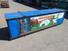 Huge L 40ft x W 30ft x H 15ft Relocatable Heavy Duty Storage Shelter New Unissued