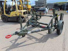 Unused Heavy Duty SEB International Cable Drum Trailer