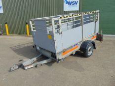 Ex British Telecom Indespension 750Kg Single Axle Engineers Trailer