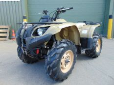 Yamaha Grizzly 450 4 x 4 ATV Quad Bike Complete with Winch ONLY 164 HOURS!