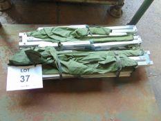2X LIGHT WEIGHT BRITISH ARMY FOLDING CAMP BEDS