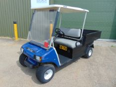 Club Car 2 Seater Golf Buggy / Estate Vehicle C/W Tipping Rear Body