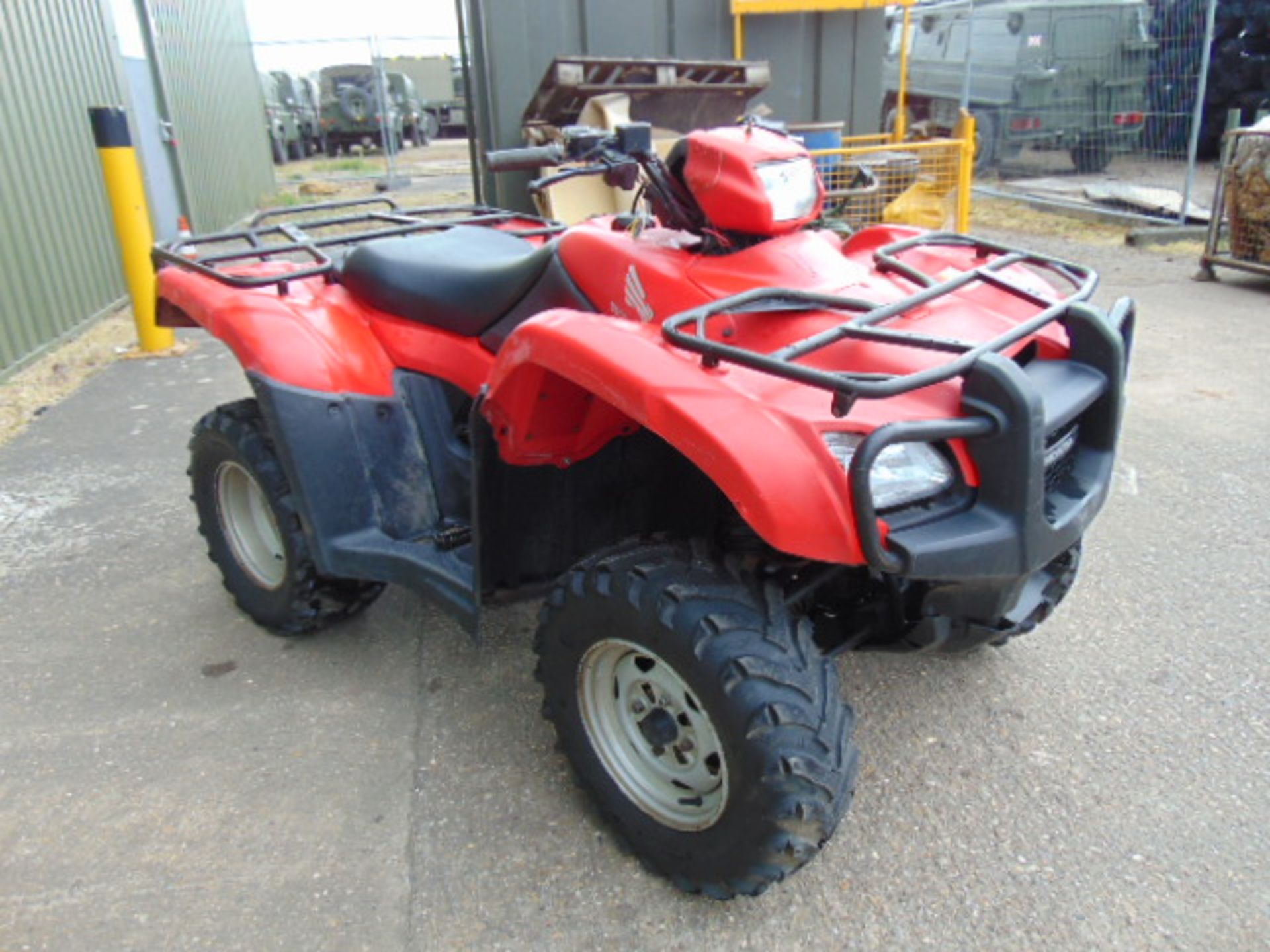 Honda TRX 500 4WD Quad Bike ONLY 2,300 HOURS! - Image 3 of 20