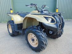 Yamaha Grizzly 450 4 x 4 ATV Quad Bike Complete with Winch ONLY 576 HOURS!