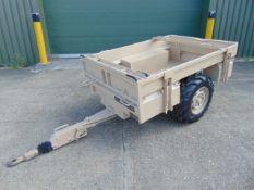 Logic SMT172B 2 wheel ATV Quad Bike Trailer with Drop Tailgate