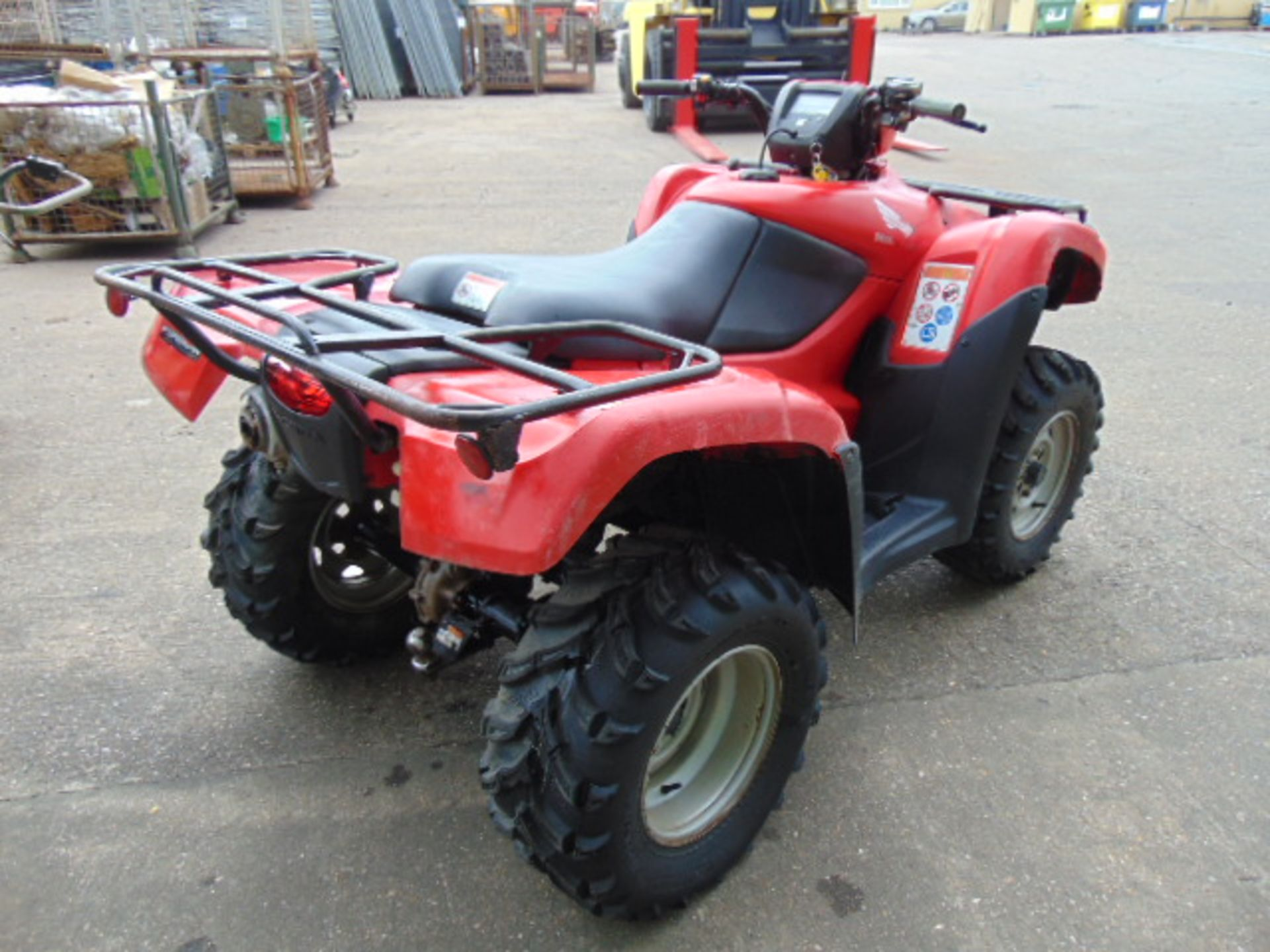 Honda TRX 500 4WD Quad Bike ONLY 2,300 HOURS! - Image 8 of 20