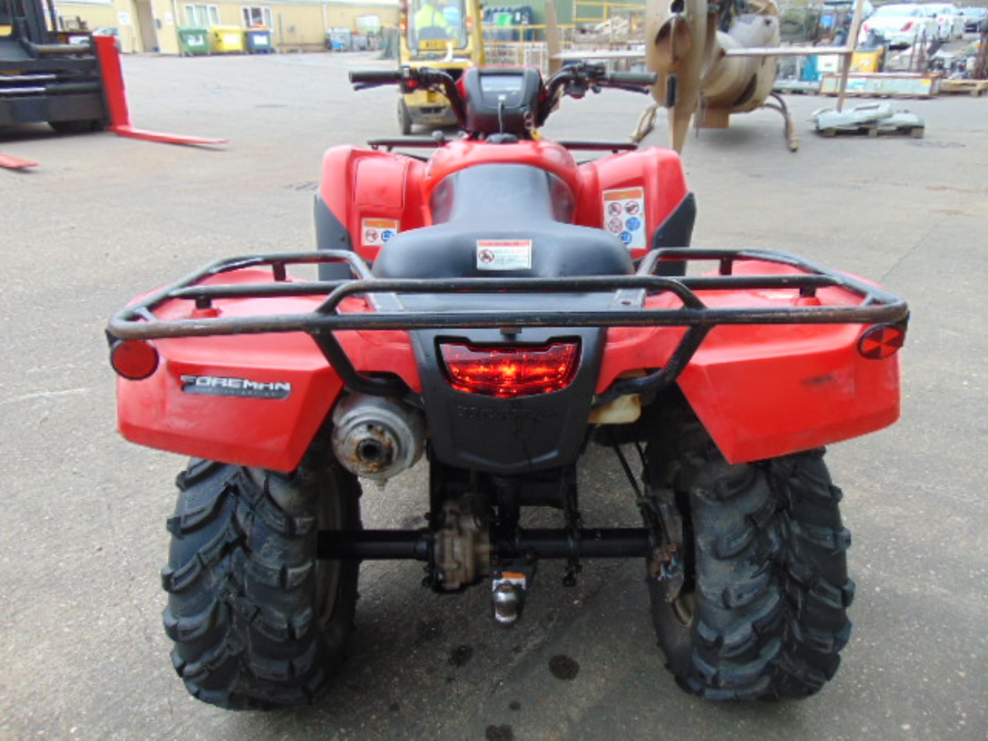 Honda TRX 500 4WD Quad Bike ONLY 2,300 HOURS! - Image 7 of 20