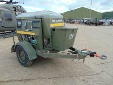 Ex Uk Royal Air Force Trailer Mounted 25 KVA Generator