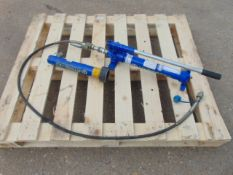 Hydrotec MP22 Hydraulic Hand Pump C/W Hose and Ram