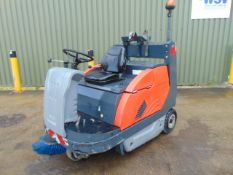 2011 Hako Jonas 1200 V Ride On Gas Sweeper ONLY 3,288 Hours!