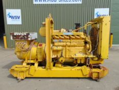 Rolls Royce Diesel Powered Newage Stamford 125KVA Generator with control panel ONLY 280 HOURS!