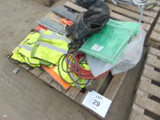 SAFETY EQUIPMENT, AIR LINES, TOOLS, ETC