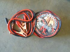 2 pairs of H/D Jump Leads New Unissued