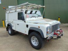 2007 Land Rover Defender 110 Puma hardtop 4x4 Utility vehicle (mobile workshop)