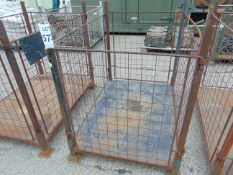 STEEL STACKING STILLAGE WITH REMOVABLE SIDES