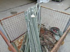 Camo Netting Support Poles, Mushrooms, Canvas Sheets etc