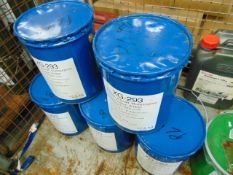 5 x Unissued 12.5Kg Drums of XG 293 Grease Designed to Operate at Wide Temerature Ranges