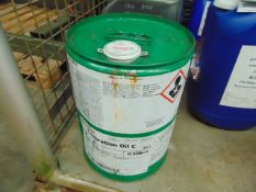 1 x Unissued 20L Drum of Castrol Calibration Oil C Diesel Injector Calibration Fluid