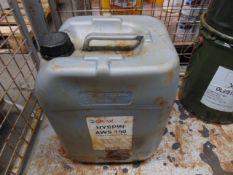 1 x Unissued 20L Drum of Castrol Hyspin AWS 150 Antiwear Hydraulic Oil