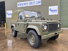 LAND ROVER 90 WOLF SOFT TOP RHD ONLY 3790 RECORDED KMS